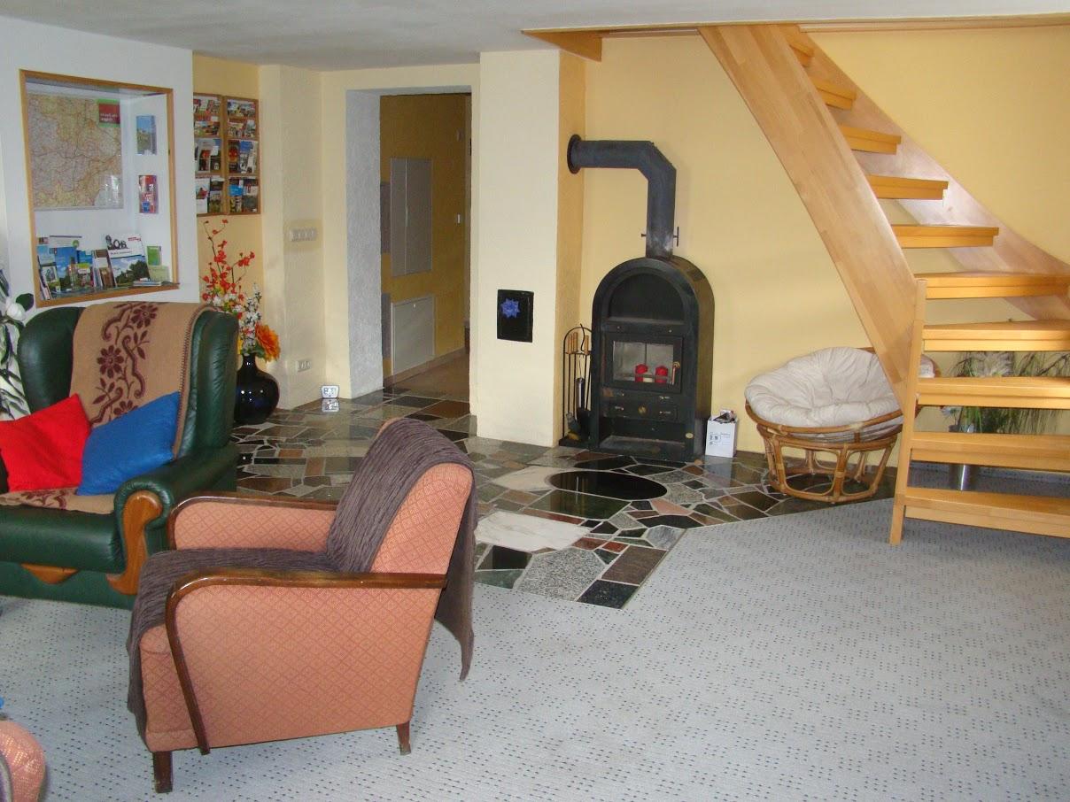 Ferienhaus zu Wohlborn Treppe nach oben