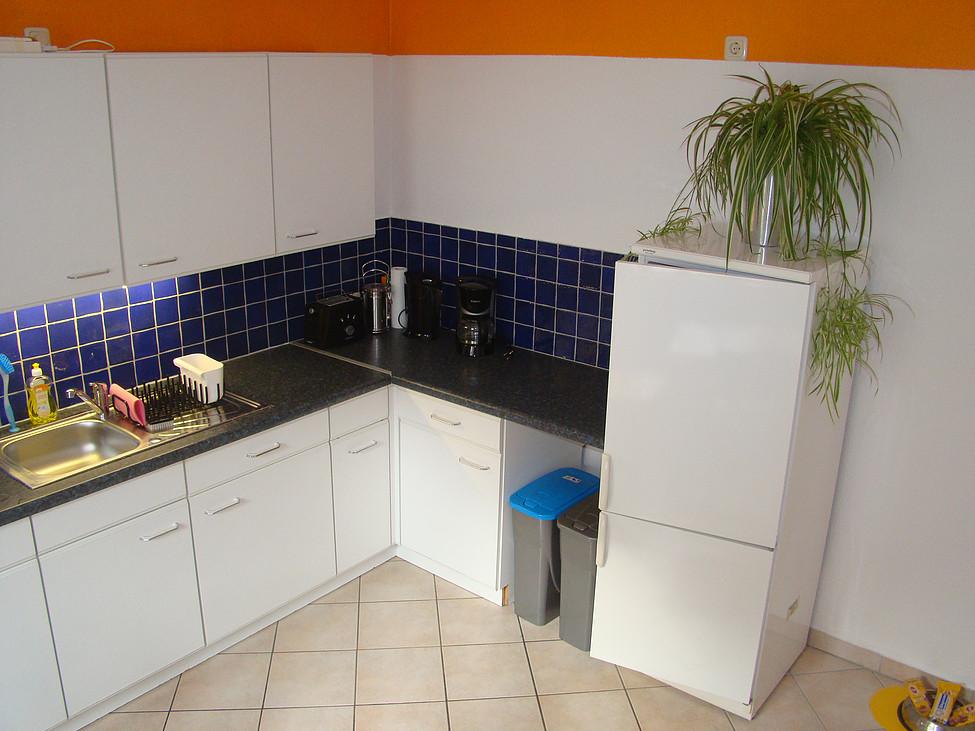 Küche im Ferienhaus zu Wohlsborn nahe Weimar
