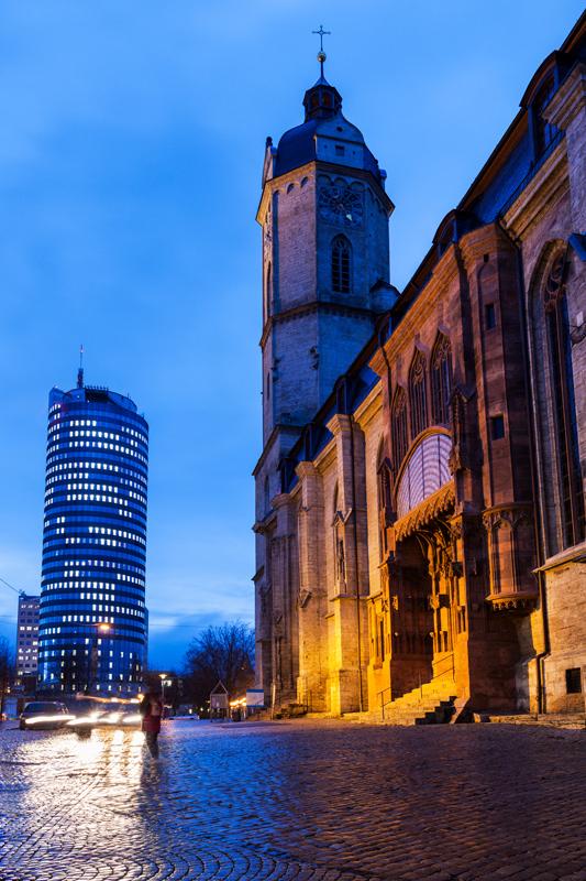 Kirche St. Michael in Jena & JenTower