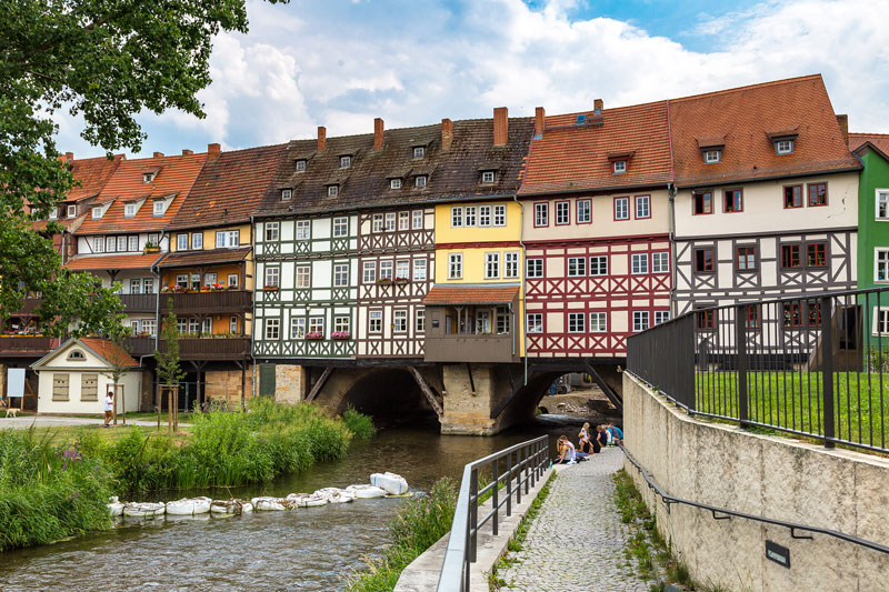 Krämerbrücke-Erfurt
