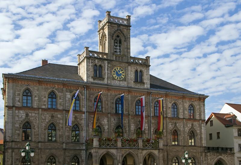 Weimar Rathaus am Marktplatz