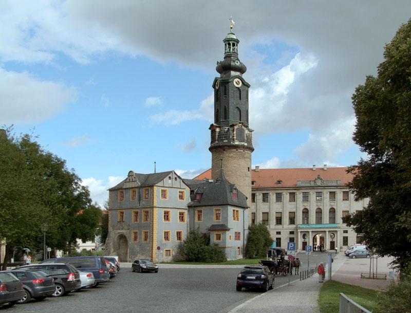 Weimar Stadtschloss (auch Residenzschloss) mitBastille